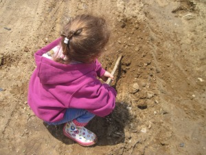 Free Toys:  Dirt and Stick